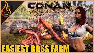 Farm Bosses And Skeleton Keys Easy Conan Exiles 2018 Pro Tips