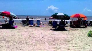 Galveston Texas Stewart Beach