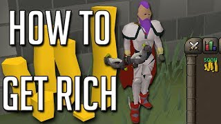 10 Tips To Become RICH In Runescape (Money Making Guide)