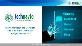cPDM market in the Electrical and Electronics - Industry Analysis 2015-2019