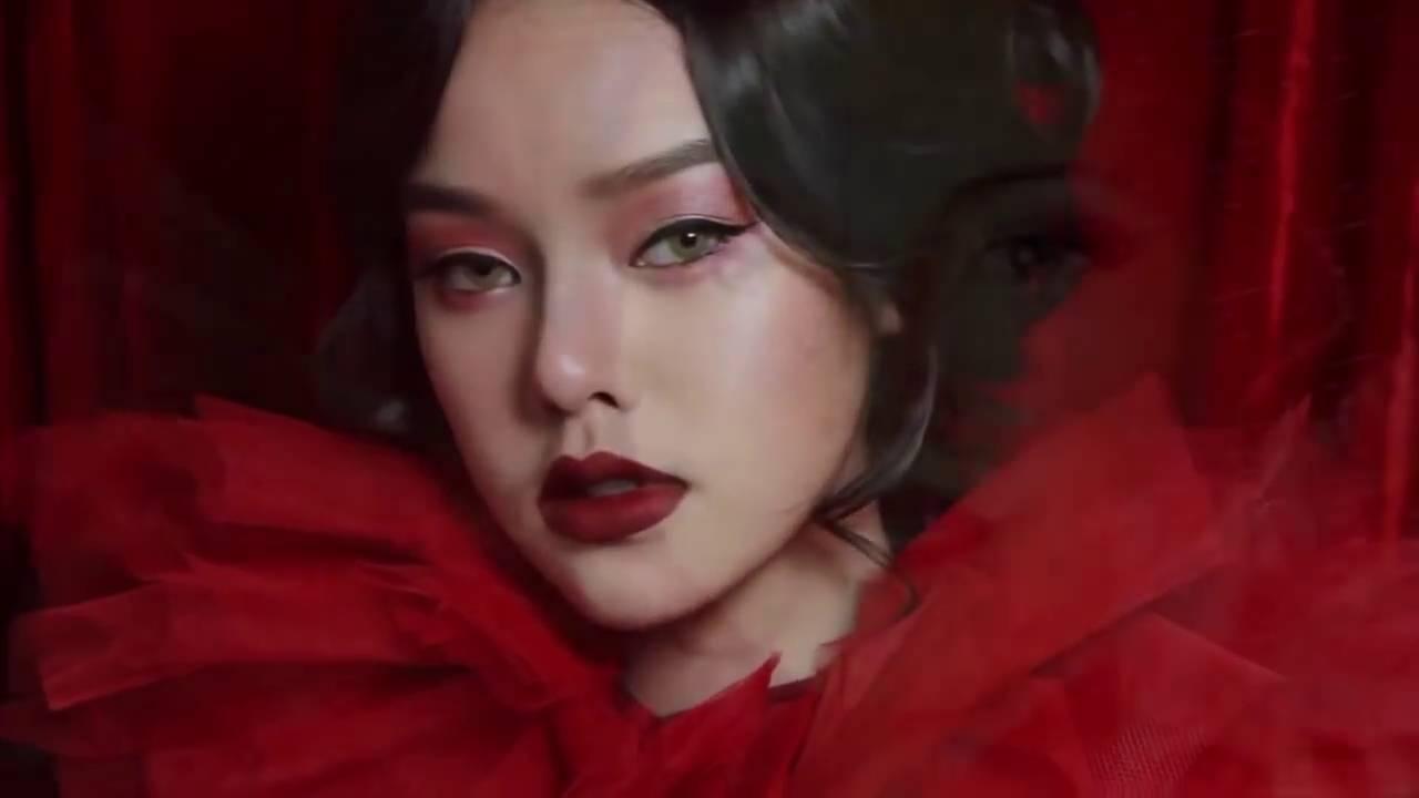 Woman asian women red