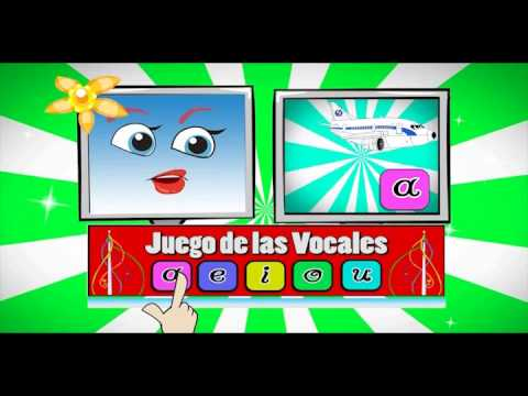 Aprendemos las vocales | Juego educativo para niños from YouTube · Duration:  5 minutes 33 seconds