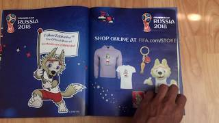 100% Complete: Panini 2018 Russia World Cup Sticker Album