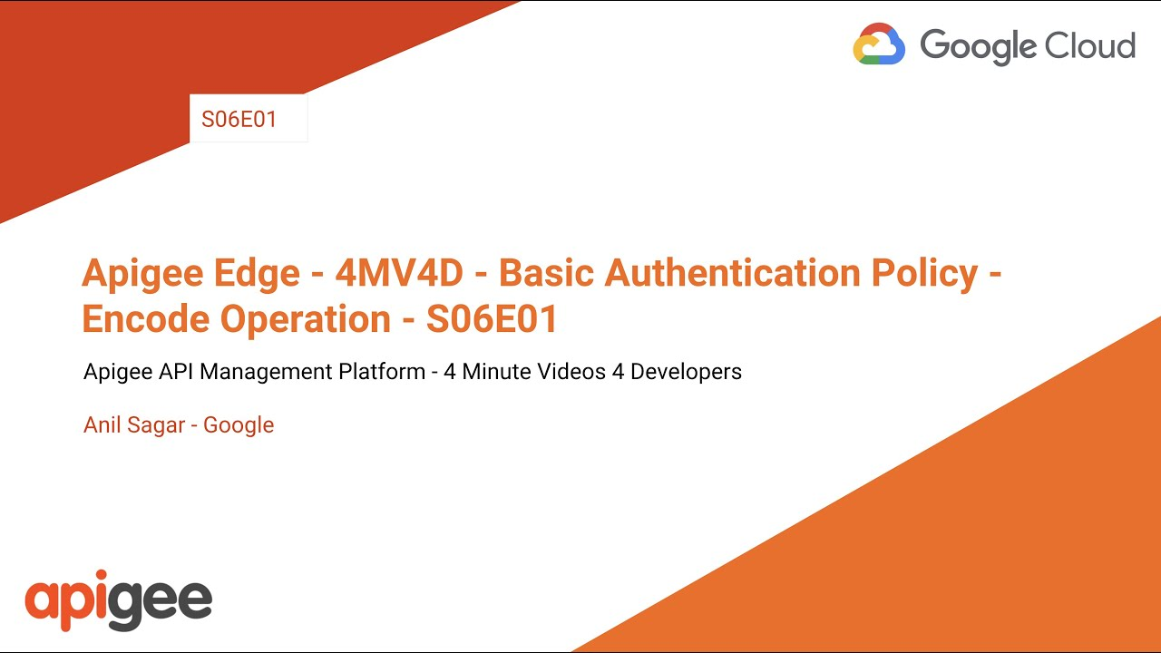 BasicAuthentication policy | Apigee Docs