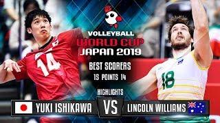 Highlights   Japan vs. Austarila   Yuki Ishikawa vs. Lincoln Williams   World Cup 2019