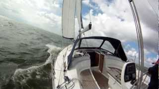Bavaria 34 Cruiser Sailing