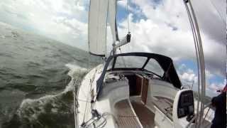 Bavaria 34 Cruiser Sailing