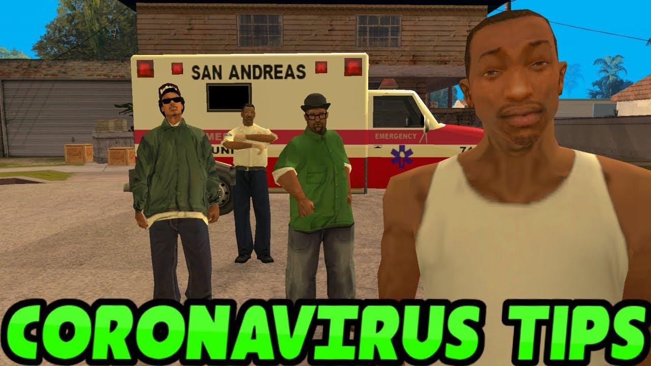 How To Avoid The Coronavirus (GTA SA Edition)