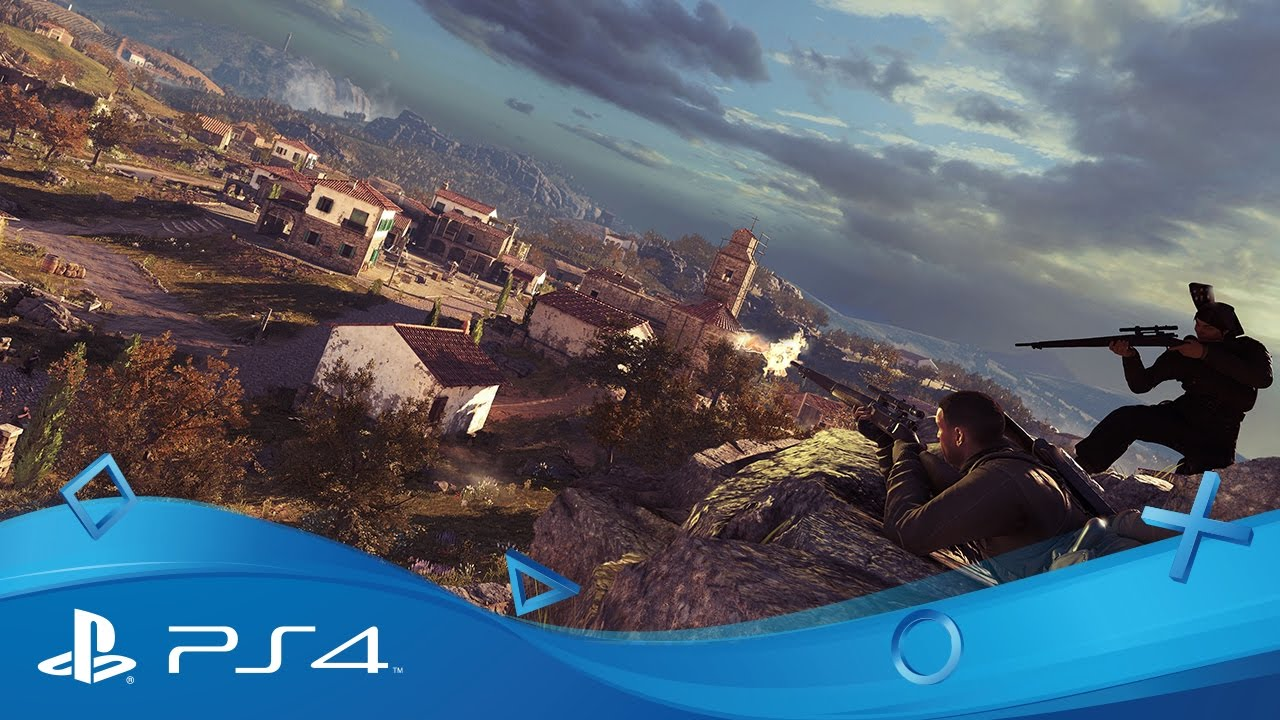 WipEout Omega Collection and Sniper Elite 4 are your