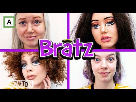 Sminkar oss som Bratz! Med Agnetesh