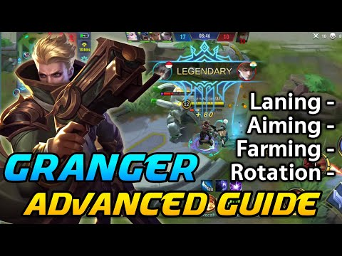 1 TAP KILLER | Granger Advanced Guide | Rotaion , Ganking, Farming | Mobile Legends Bang Bang