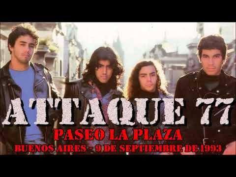 A77aque - Paseo La Plaza (Buenos Aires 09/09/1993)