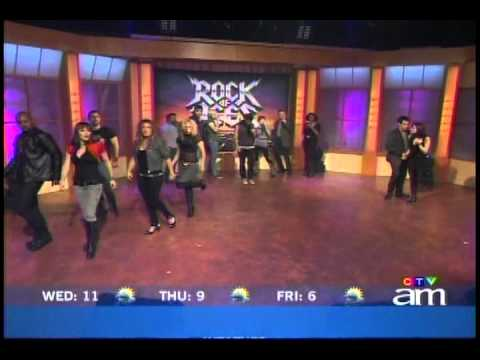 Canada AM - Rock of Ages Cast - Don't Stop Believin' (03-11-10)