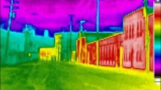 Thermal Imaging Infrared Photography House and Buildings