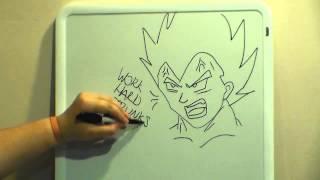 Draw My Life with Kid Trunks Parody