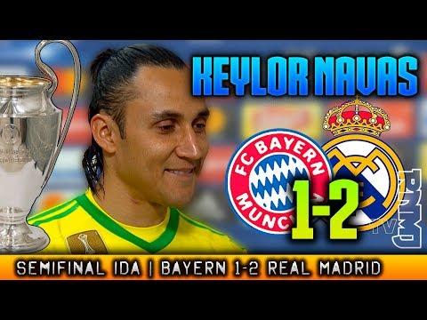 Bayern Munich 1-2 Real Madrid KEYLOR NAVAS post Semifinal Champions (25/04/2018)