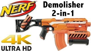NERF N-Strike Elite Demolisher 2-in-1 Unboxing and Review