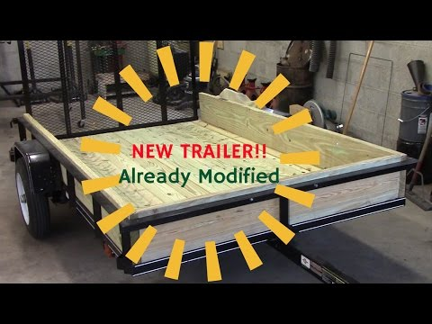 Upgrades to a wire mesh carry on brand trailer