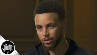 'This isn't over': Steph Curry exclusive interview before Game 5 of the 2019 NBA Finals | The Jump