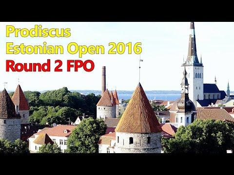 lcgm8 Disc Golf - Estonian Open 2016 Round 2 FPO