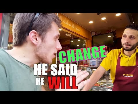 Vegan Interviews : Kebab Shop Owner in Nicosia, Cyprus.