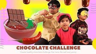 Chocolate Challenge Fun I Blind Fold Fun With Anagh Aadriti