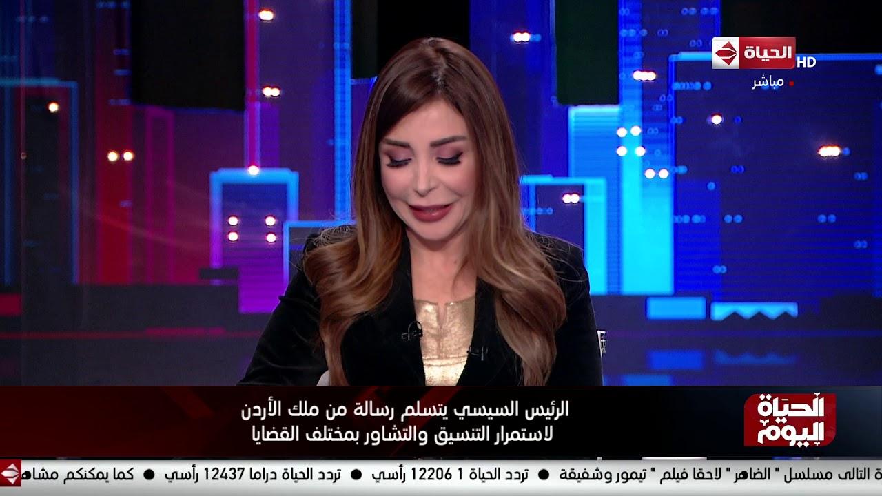 الحياة اليوم - الرئيس السيسي يبحث مع وزير خارجية فرنسا تطورات الأوضاع في الخليج وليبيا