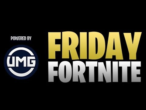 NORSK FORTNITE FRIDAY/// ÅPEN FOR ALLE
