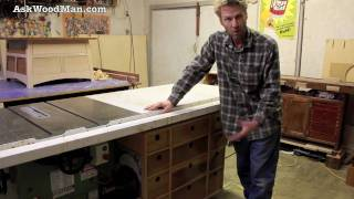 Woodworking Project For Beginners / Table Saw Drawers • Woodworking Shop Tour (3 Of 5)