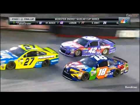 Monster Energy NASCAR Cup Series Bristol2 2017 Stage 1 Finish