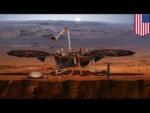 NASA's Insight Lander detects first marsquake - TomoNews