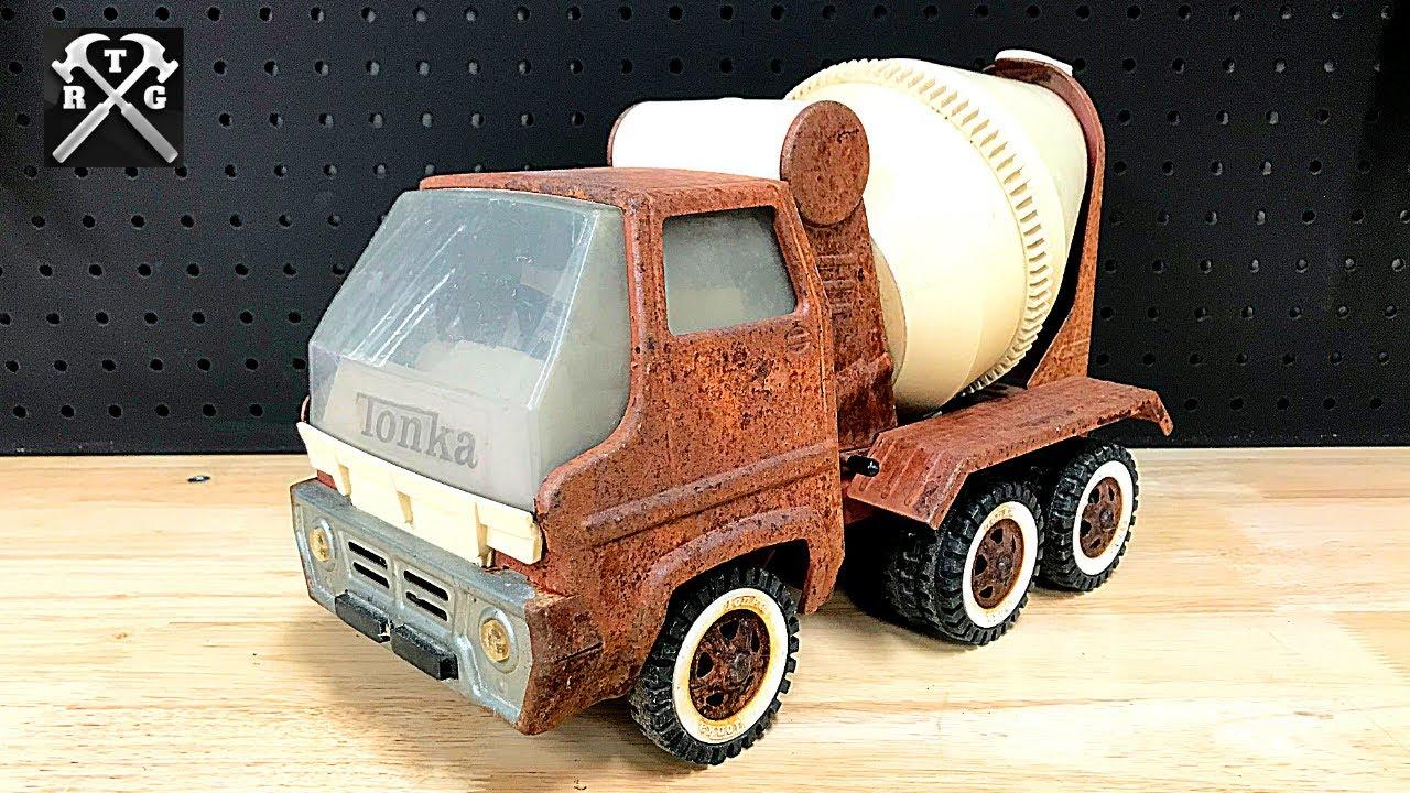 Tonka Cement Mixer Restoration