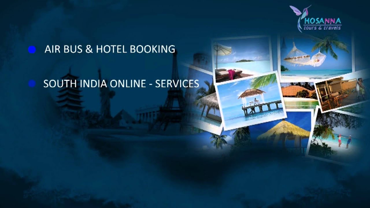 Hosanna Tours And Travels Pvt Ltd Ads Youtube