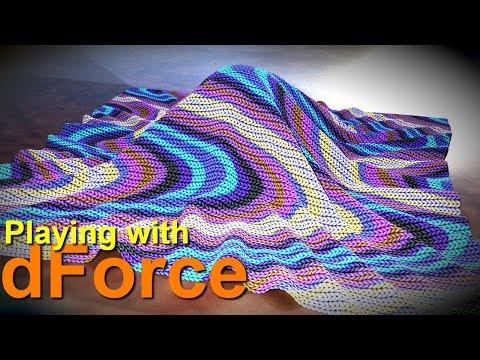 Daz Studio dForce | Draping a Blanket Using Only Primitives