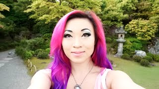 Yaya Han - Japan Vlog - Part 3! Monkeys! Zen Gardens! Bamboo Grove!