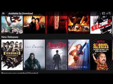 DOWNLOAD NETFLIX MOVIES AND TV S  NVIDIA SHIELD TV