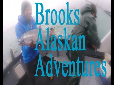 Winter King Salmon Fishing With Brooks Alaskan Adventures