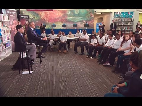"President's ""Virtual Field Trip"" with Students on the Power of Reading"