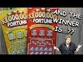 Which One Was A Winner?..Yellow or Orange $3,000,000 Fortune Lottery Ticket Scratch Off!