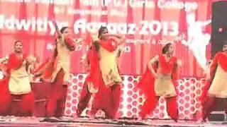 Group Dance (Punjabi Song) Aagaaz 2013