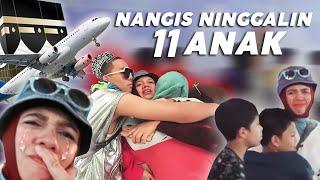 Mom Gen Nangis, Gak Kuat Ninggalin 11 Anaknya Yang Gak Berangkat Haji
