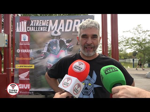 Xtreme Challenge de motociclismo en Tres Cantos