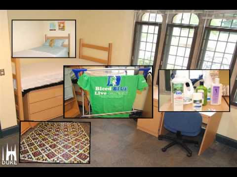 Sustainable Decorating In 2 Minutes: Dukeu0027s First Green Dorm Room   YouTube Part 3