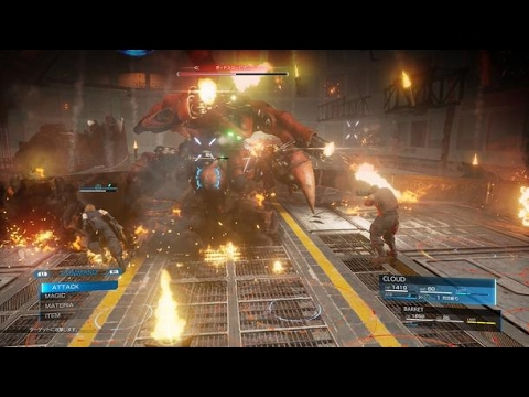 FAKEFinal Fantasy VII Remake Leaked Gameplay Footage YouTube