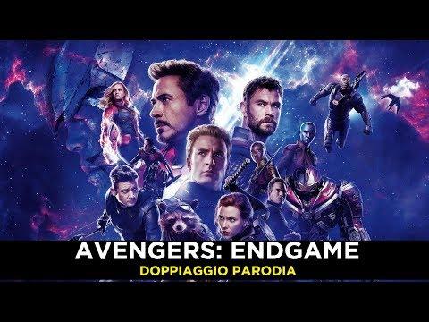 Avengers Endgame Doppiaggio Parodia