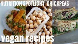 WHAT I EAT IN A DAY // 3 WAYS TO COOK CHICKPEAS
