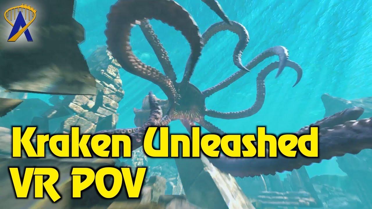 Download Kraken Unleashed Full VR POV - SeaWorld Orlando