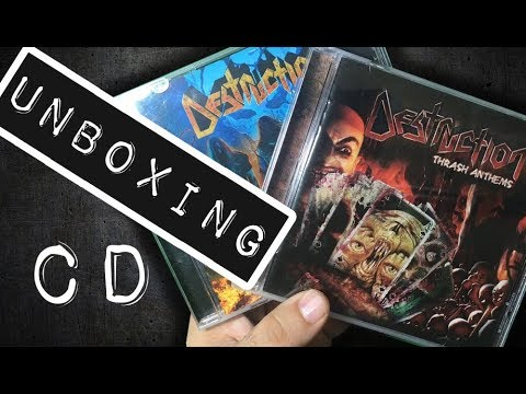 Unboxing CD Destruction - Thrash Anthems 1 y 2 [2007, 2017]