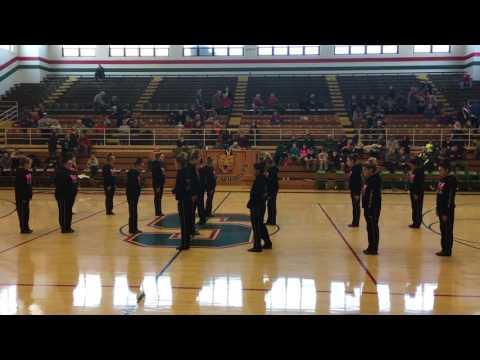 Salem Community High School Dance Team- Salem, Illinois.