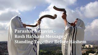 Parashat Nitzavim and Rosh HaShana Message